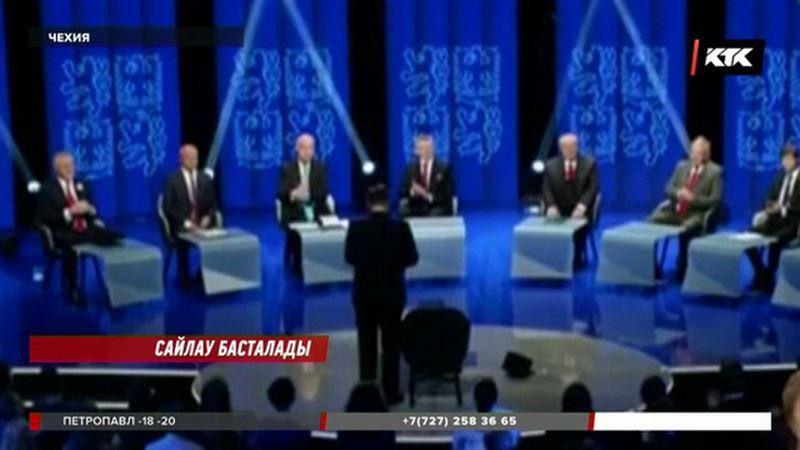 Чехияда президенттікке сайланудың бірінші кезеңі басталмақ