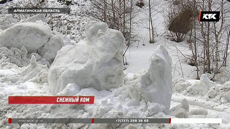 Ходить в алматинские горы не советуют