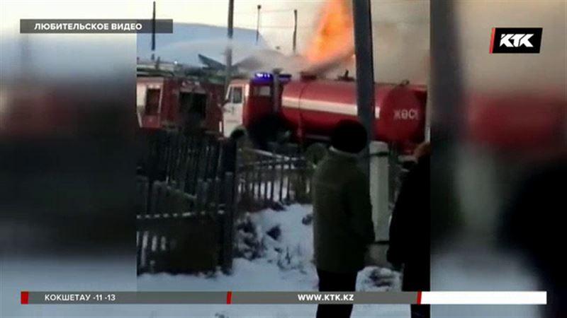 В Петропавловске при пожаре погибли двухлетний ребенок и его прабабушка