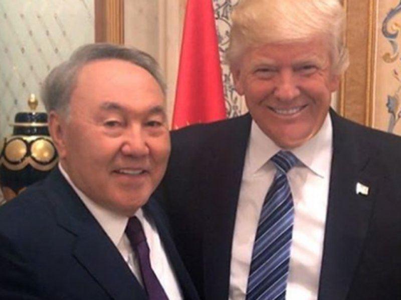 Назарбаев прибыл в США для встречи с Трампом