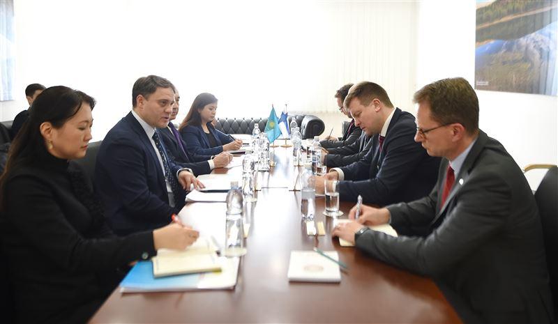 Межпарламентские группы дружбы  «Казахстан – Финляндия» углубляют сотрудничество