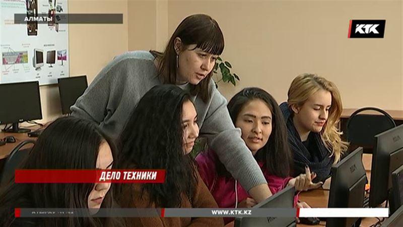 Казахстанские абитуриенты отдают предпочтение техническим специальностям