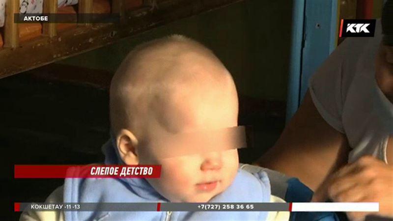 Ребенок полутора лет ослеп по вине матери
