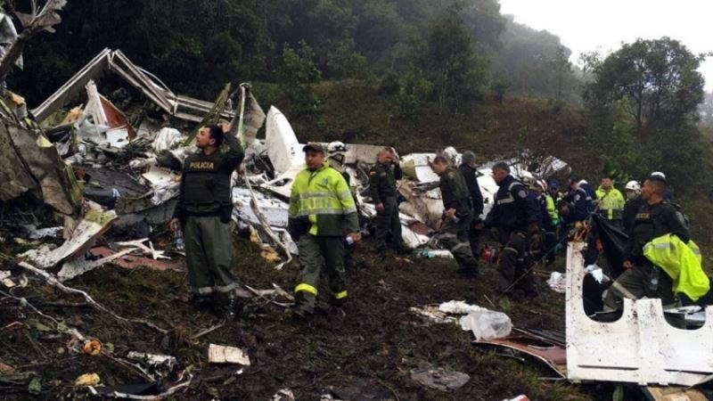 В Колумбии при крушении военного вертолета погибли десять человек