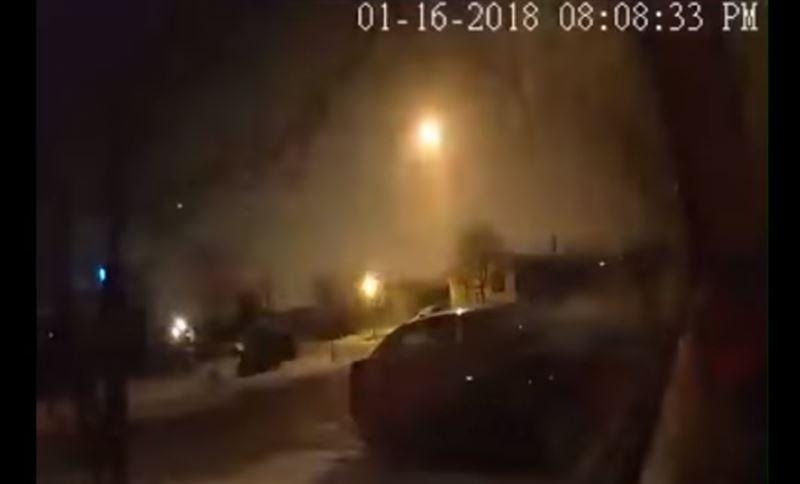 ВИДЕО: В США вблизи Детройта упал метеорит
