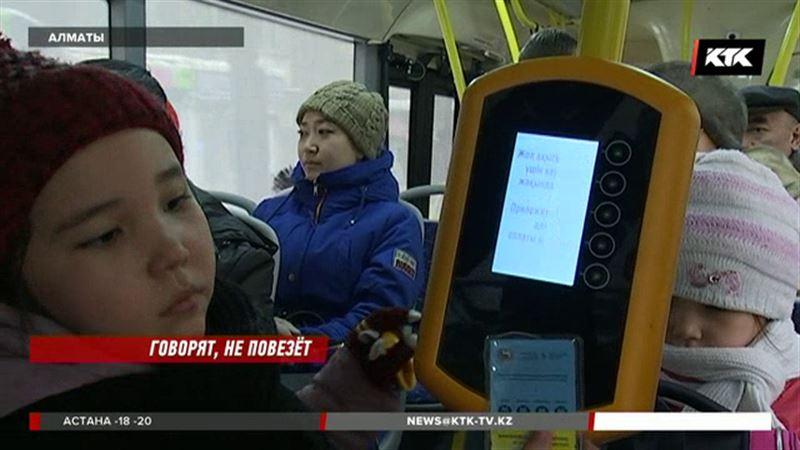 Перевозчики просят повысить проезд в автобусах Алматы