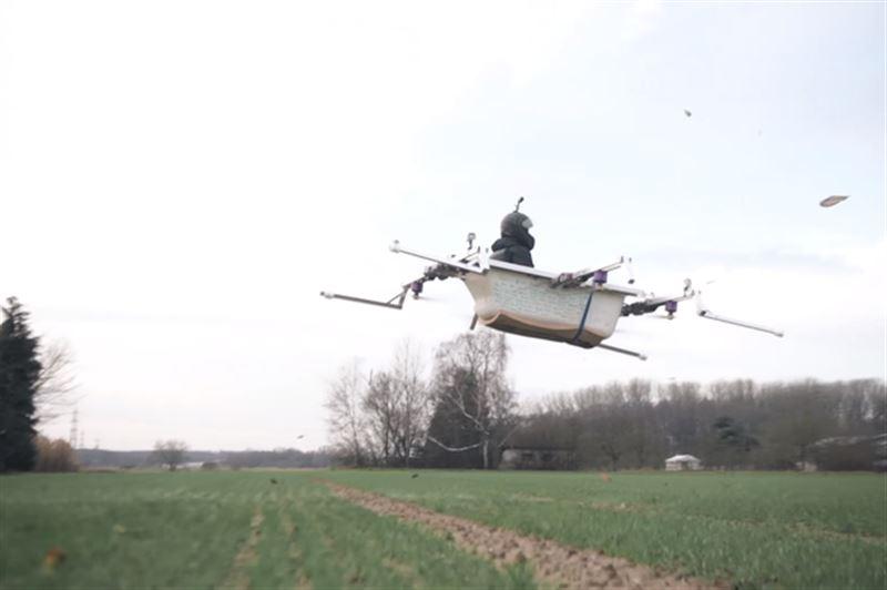 ВИДЕО: В Германии создали летающую ванну