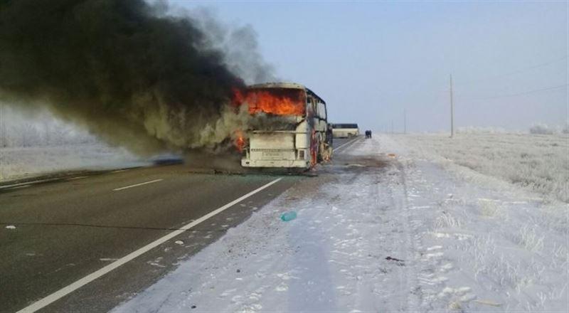 Автобус апатынан тірі қалған бес адамның жағдайы белгілі болды