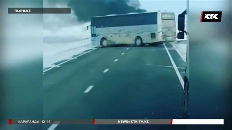 Тікелей эфир: 52 адам тірідей жанып кеткен автобустағы өртке қатысты қылмыстық іс қозғалды