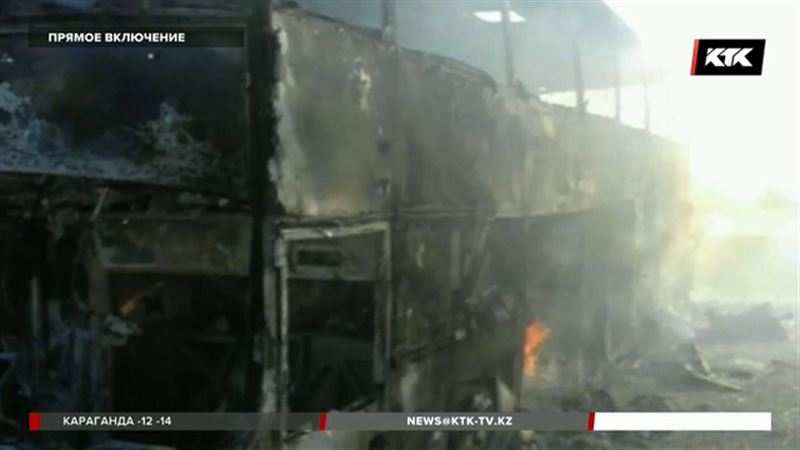 У пострадавших в трагедии на трассе всего лишь ожоги, но их отправили в реанимацию