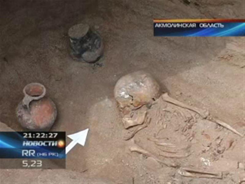 Археологическое открытие в Акмолинской области