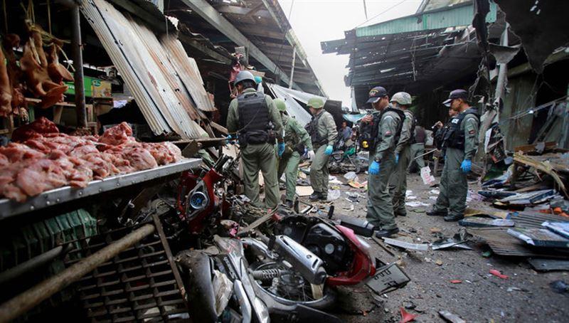 Два человека погибли в результате взрыва на рынке в Таиланде