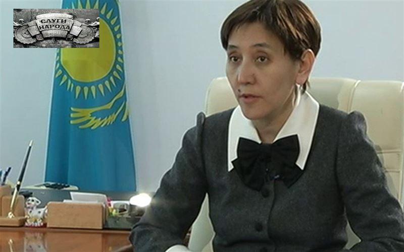 Тамара Дуйсенова, министр труда и социальной зашиты населения РК