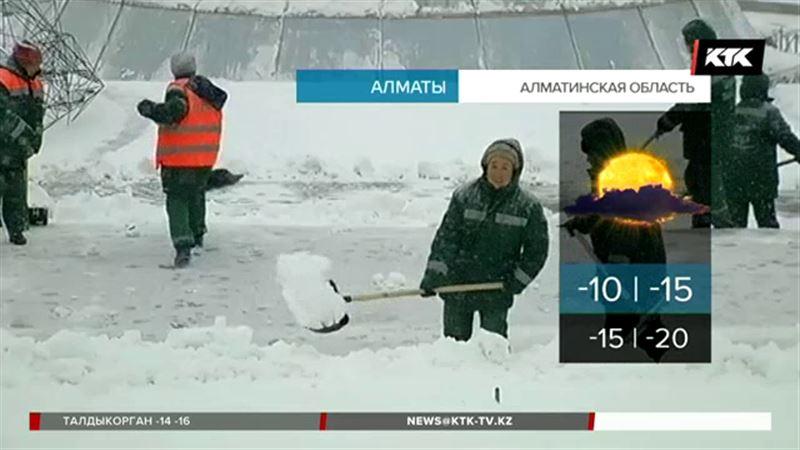 Даже жителям Алматинской области советуют не выходить на улицу