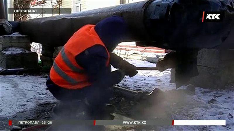 Петропавлда күн сайын көпқабатты 20 шақты үйдің  суы қатып қалды
