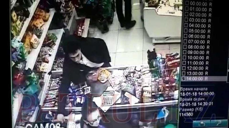 ВИДЕО: Астанада ұялы телефон жымқырған жігіт бейнекамераға түсіп қалды