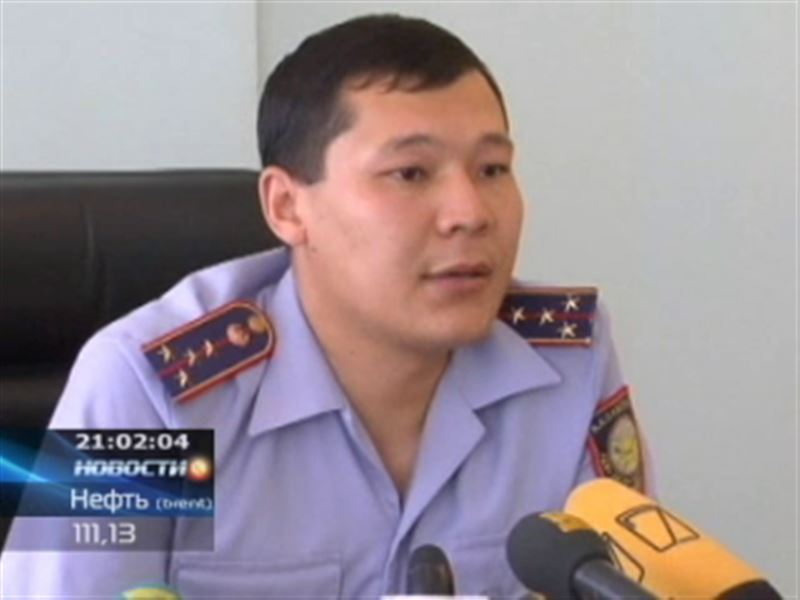 В Актюбинской области расстреляли машину полицейских, убиты двое патрульных
