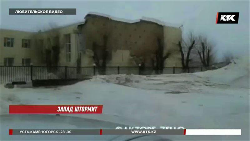 Порывы ветра в Актюбинской области достигают 30 метров в секунду