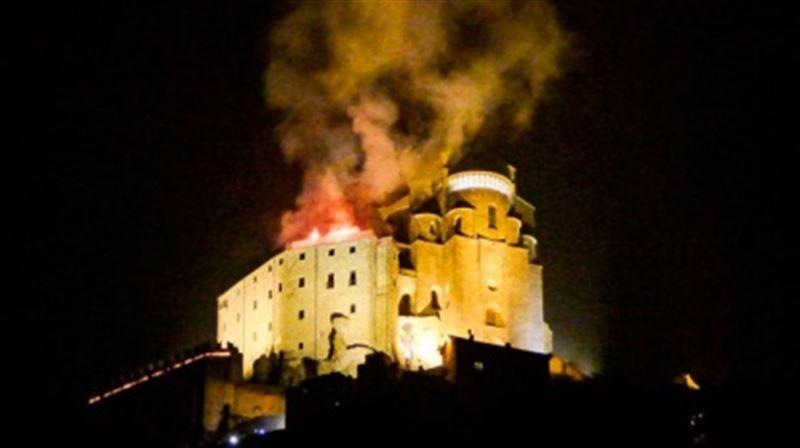 В Италии загорелось аббатство, вдохновившее Умберто Эко на роман «Имя Розы»