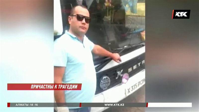 Водителей сгоревшего автобуса перевели из больницы в СИЗО