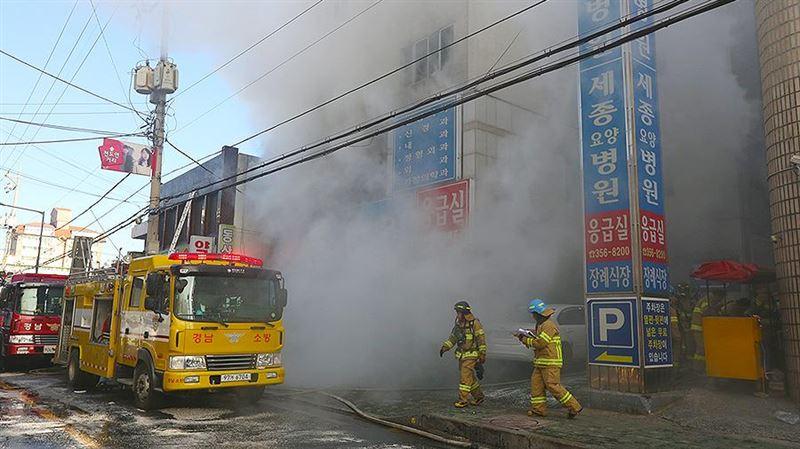 Число погибших при пожаре в больнице в Южной Корее возросло до 79 человек