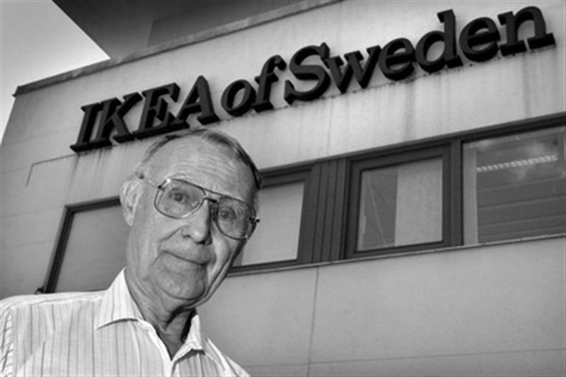 Ушел из жизни основатель IKEA Ингвар Кампрад