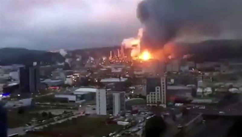 На нефтеперерабатывающем заводе на Тайване произошел взрыв