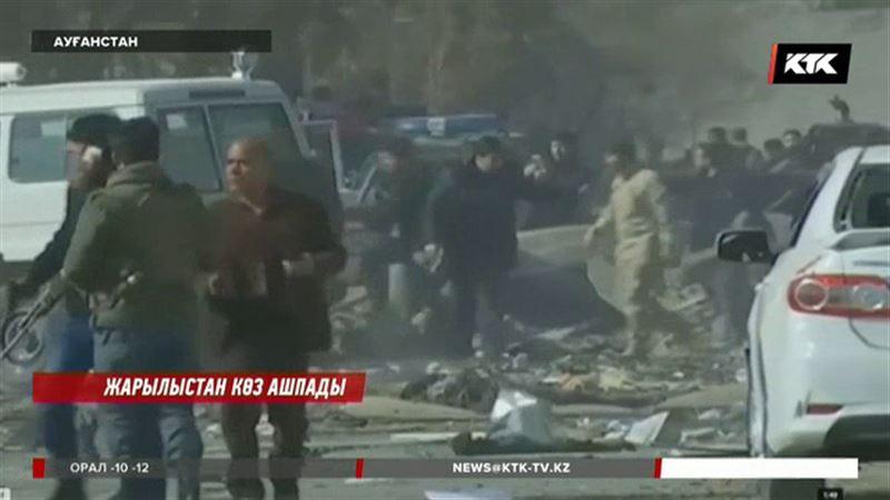 Кабулде жанкешті өзін жарып жіберді