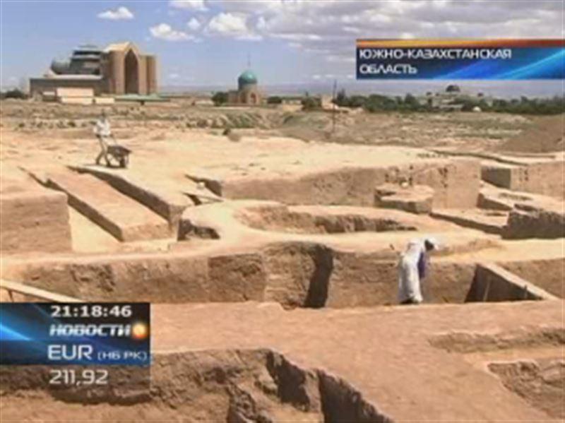 В ЮКО археологи обнаружили уникальный древний храм