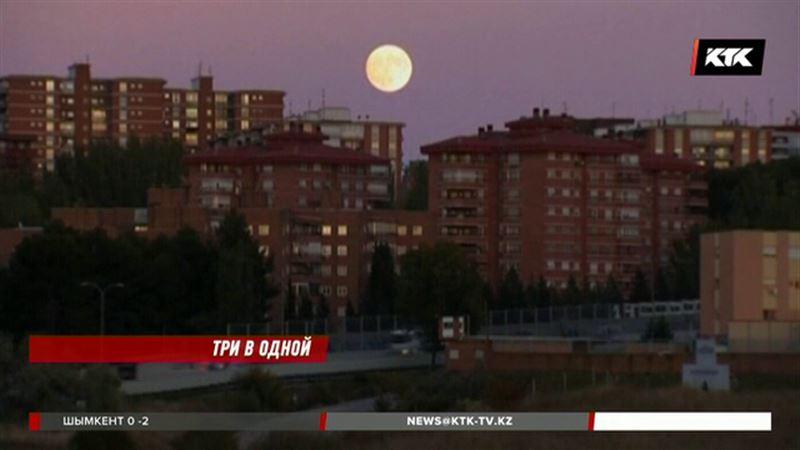 Казахстанцев ждёт тройной сюрприз от Луны