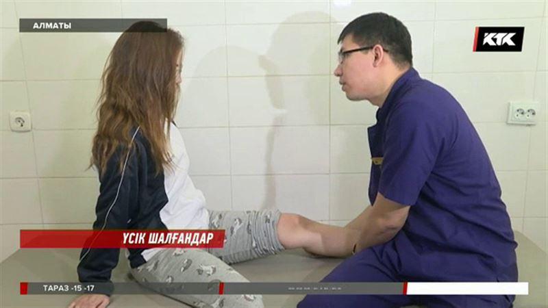 Алматыда 70 шақты адамды үсік шалған