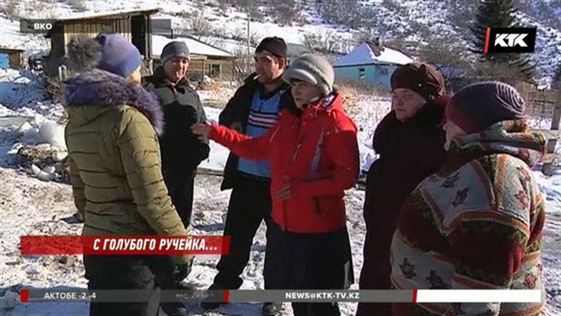 Жители Риддера оказались в ледяном плену