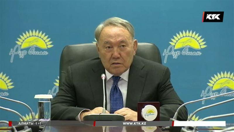 Назарбаев хочет от «Нур Отана» креатива
