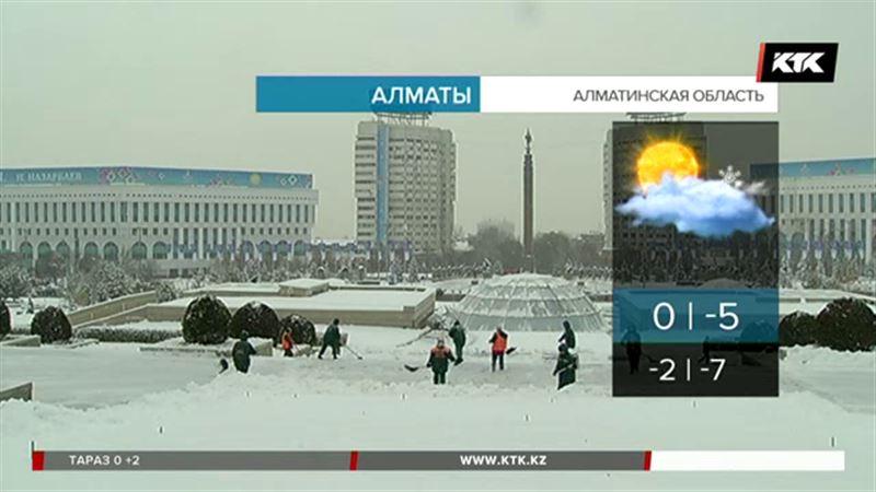 До десяти градусов тепла обещают в Алматинской области