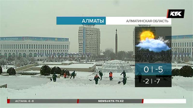 Февраль в Алматы будет тёплым