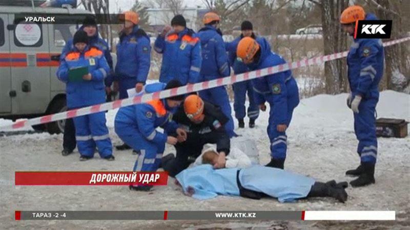Подробности страшной аварии в Уральске – автобус столкнулся с грузовиком