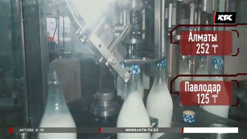 В Казахстане подорожало молоко
