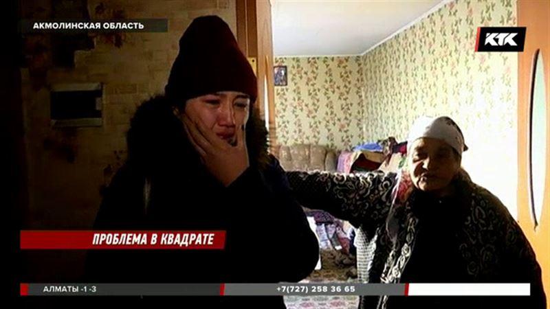 Две семьи в акмолинском поселке делят дом, который им не принадлежит