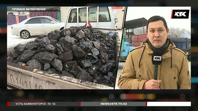 В Алматинской области вновь очереди за углем
