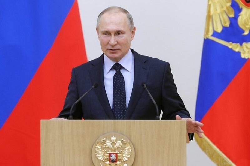 Путин РФ президенттігіне кандидат ретінде тіркелді