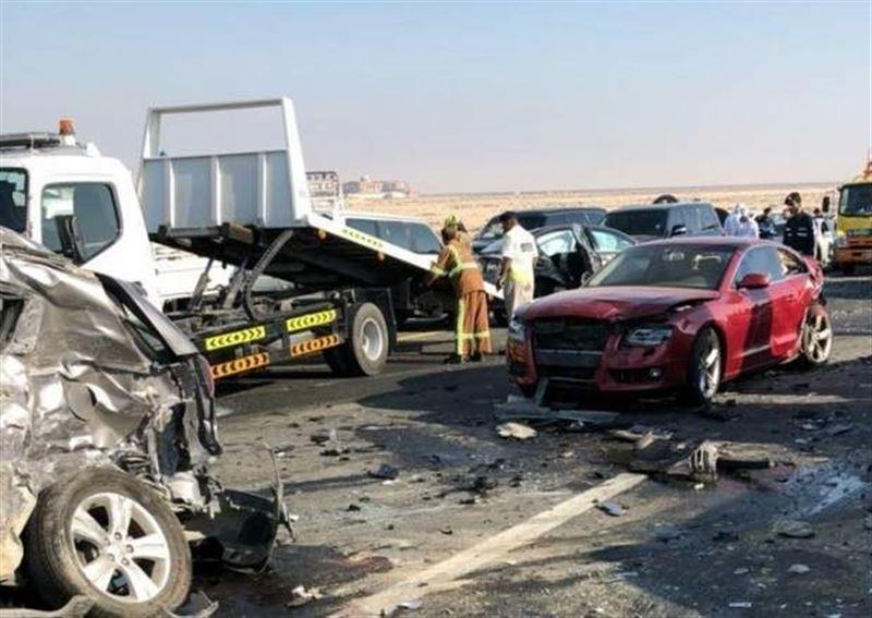 ШОК: Опубликовано видео с места аварии с участием 44 машин
