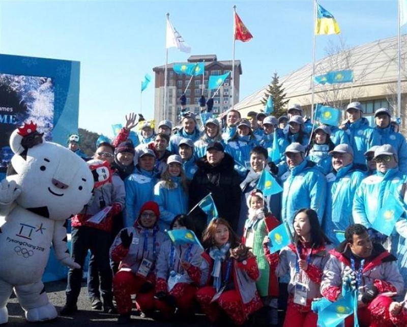ВИДЕО: Олимпиада қалашығында Қазақстанның Туы көтерілді