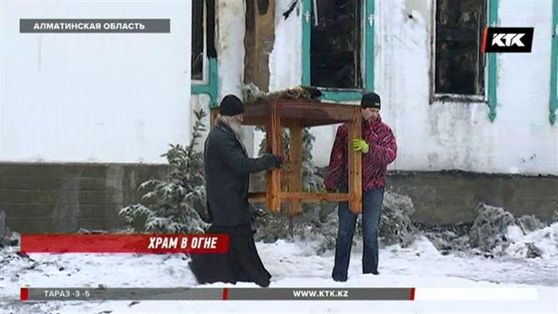 Старейший православный храм мог сгореть из-за замыкания в проводке