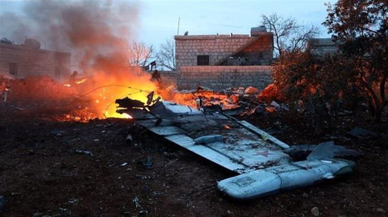 ВИДЕО: Сирияда Ресей ұшағын атып түсірді