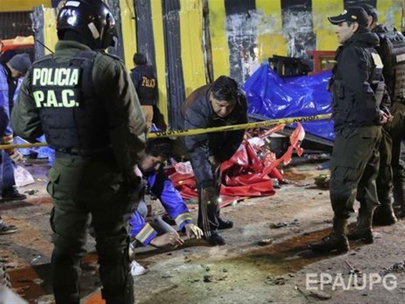 ВИДЕО: В Боливии из-за взрыва на карнавале погибли 20 человек