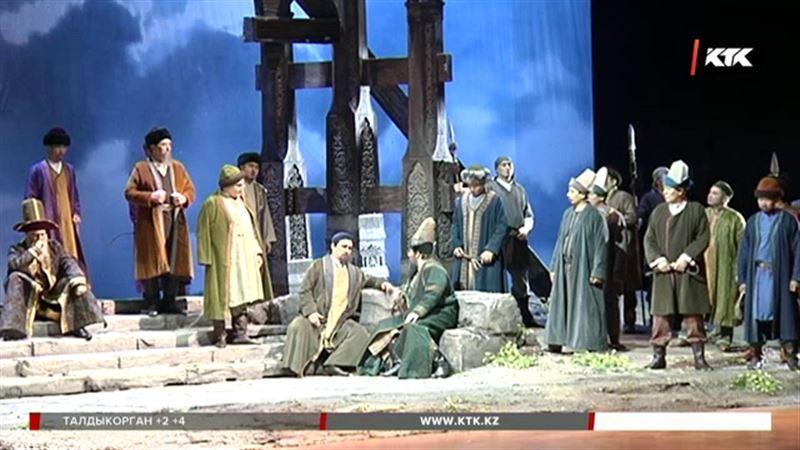 «Астана Опера» представила алматинской публике «Абая»