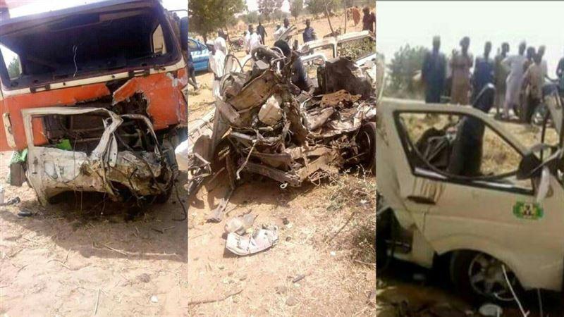 22 школьника погибли в результате ДТП в Нигерии