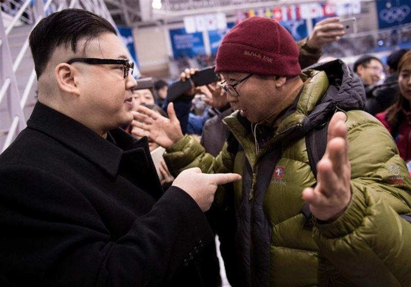 Двойника Ким Чен Ына задержали за танец перед болельщиками КНДР