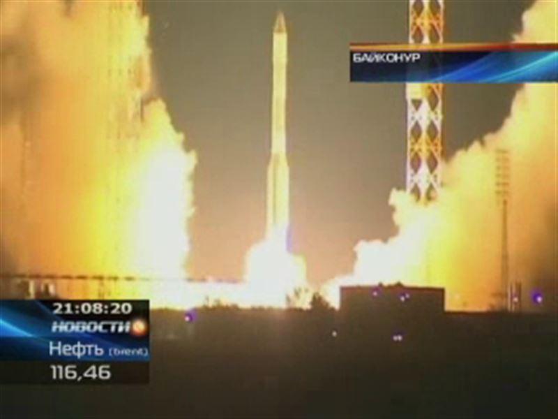 Телекоммуникационный спутник «Казсат-2» - на околоземной орбите