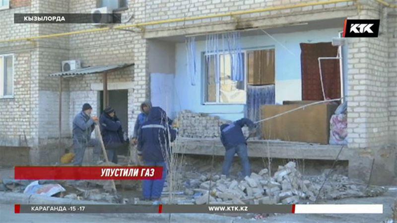 Жительница Кызылорды пришла домой, а стены нет